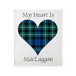Heart-MacLaggan Throw Blanket
