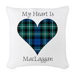 Heart-MacLaggan Woven Throw Pillow