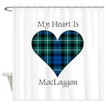 Heart-MacLaggan Shower Curtain