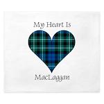 Heart-MacLaggan King Duvet