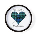 Heart-MacLaggan Wall Clock
