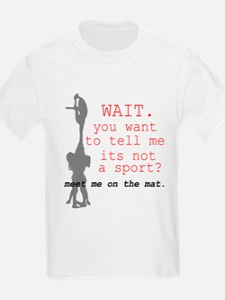 Meet Me on the Mat. T-Shirt