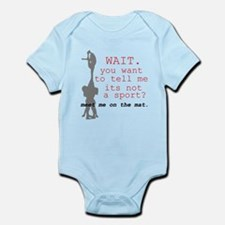 Meet Me on the Mat. Infant Bodysuit