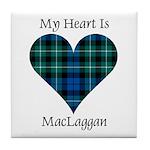 Heart-MacLaggan Tile Coaster