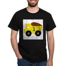 First Birthday Dump Truck T-Shirt