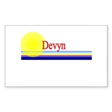 Devyn Rectangle Decal