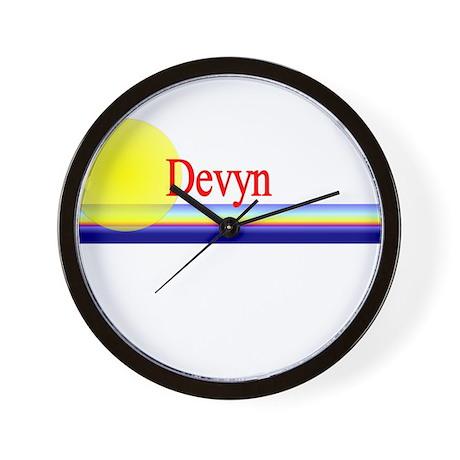 Devyn Wall Clock