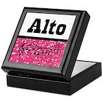 Alto Singer Choir Keepsake Box