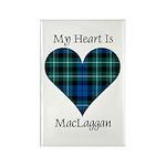 Heart-MacLaggan Rectangle Magnet (100 pack)