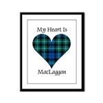 Heart-MacLaggan Framed Panel Print