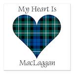 Heart-MacLaggan Square Car Magnet 3