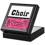 Choir Music Pink Keepsake Box