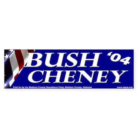 Bush '04 Bumper Sticker