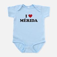 I Love Merida Infant Bodysuit