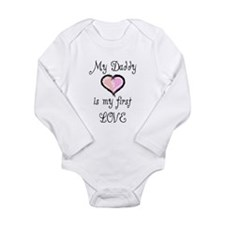 Infant valentine Long Sleeve Infant Bodysuit