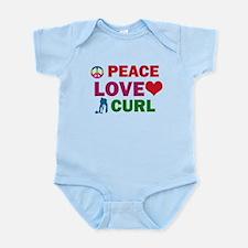 Peace Love Curl Designs Infant Bodysuit