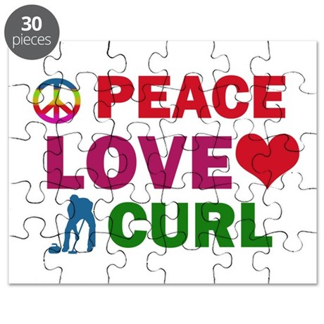 Peace Love Curl Designs Puzzle