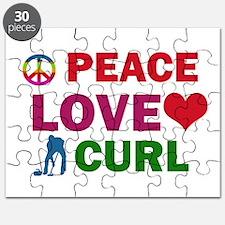 Peace Love Curl Designs Puzzle