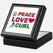Peace Love Curl Designs Keepsake Box