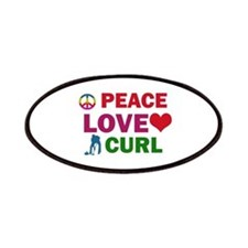 Peace Love Curl Designs Patches