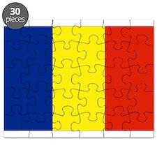 Romanian flag Puzzle