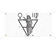 Virgo the Virgin Banner