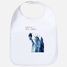 TOUCH NOT THIS LIBERTY Bib