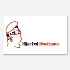 Hijacked Headspace Podcast Logo Decal
