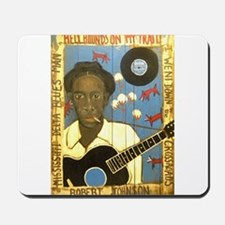 Robert Johnson Hell Hound On My Trail Mousepad