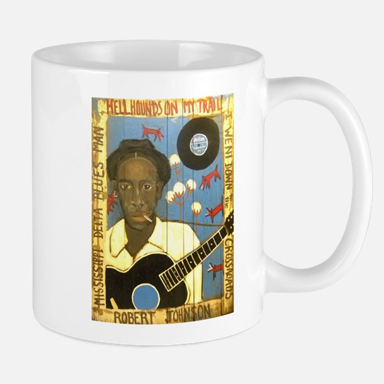 Robert Johnson Hell Hound On My Trail Mug