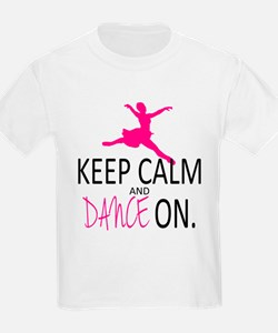 Keep Calm and Dance On T-Shirt