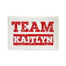 Team Kaitlyn Rectangle Magnet