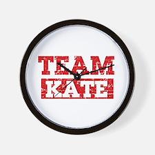 Team Kate Wall Clock