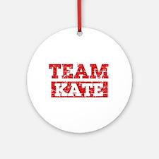Team Kate Ornament (Round)