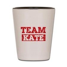 Team Kate Shot Glass