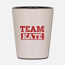 Team Kate Shot Glass