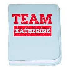Team Katherine baby blanket