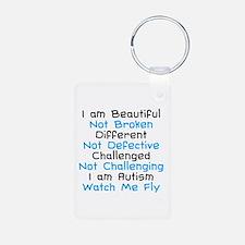 Iam Autism Watch Me Fly Keychains