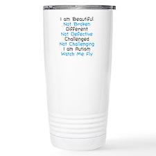Iam Autism Watch Me Fly Travel Coffee Mug