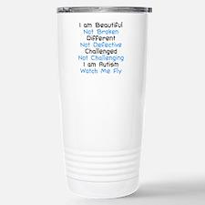 Iam Autism Watch Me Fly Travel Mug
