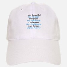 Iam Autism Watch Me Fly Baseball Baseball Cap
