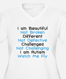 Iam Autism Watch Me Fly T-Shirt