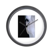 Lipizzan face Wall Clock