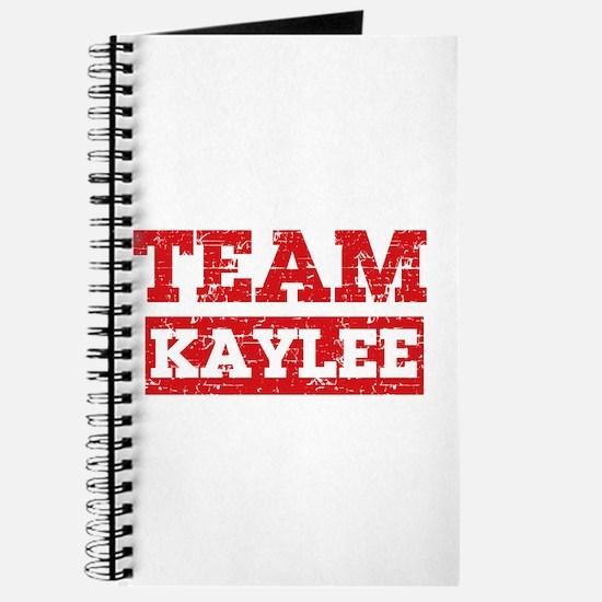 Team Kaylee Journal