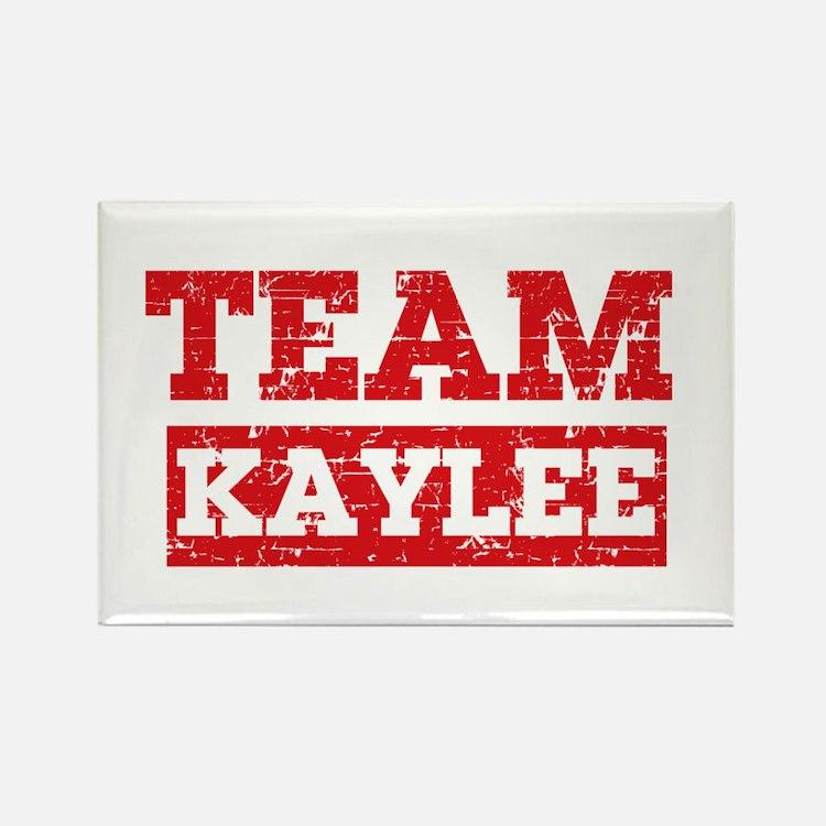 Team Kaylee Rectangle Magnet