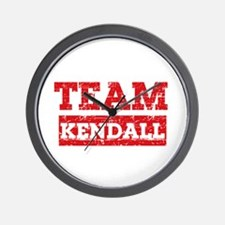 Team Kendall Wall Clock