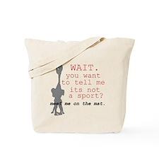 Meet Me on the Mat Tote Bag