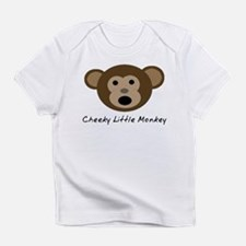 Cheeky Little Monkey Infant T-Shirt