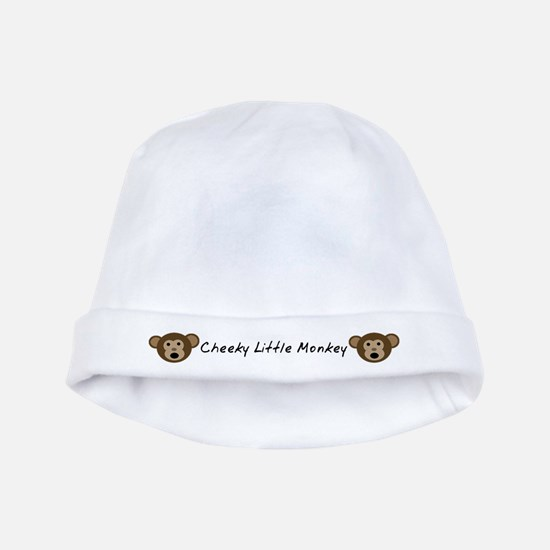 Cheeky Little Monkey Baby Hat