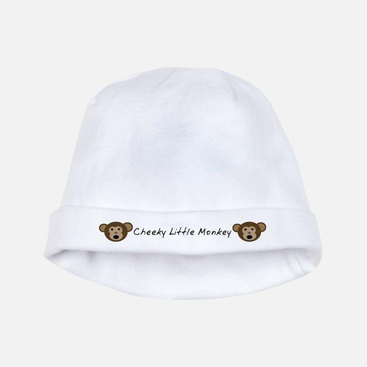 Cheeky Little Monkey Baby Hat